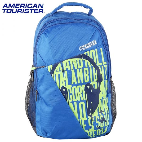 American Tourister Backpack Tango 01 (Classic Blue and Red)