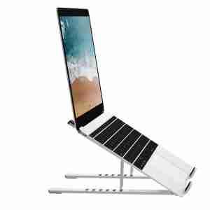 WiWU S400 Folding Adjustable Aluminum Durable Laptop Stand | LaptopLelo