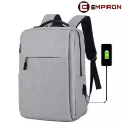 Empiron Laptop Backpack With USB Connectivity For 15.6 Elb02   LaptopLelo