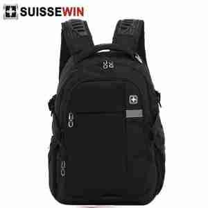 Suissewin SN9610 Laptop Backpack Black | LaptopLelo