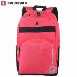 Swisswin Laptop Backpack 15.6 Model Swk2001 Pink | LaptopLelo