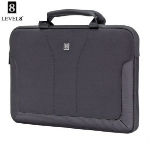 Level8 15.4-inch Protective Sleeve for MacBook – Black (LA-1442-02) | LaptopLelo