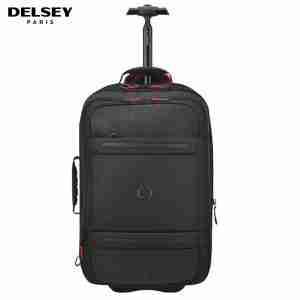 Delsey Montsouris 55 cm Cabin Carry-On 2 Case Multi-Purpose Bag   LaptopLelo