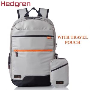 Hedgren Junction 15-Inch Laptop Backpack WUSB Cable Dedicated Battery Storage   LaptopLelo