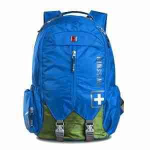 SWISSWIN 15.6 Backpack Sw9176 Authentic Blue & Red | LaptopLelo