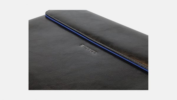 """Maroo Leather 13""""3 Sleeve for Surface Book/Laptop (Black)   LaptopLelo"""