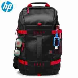 HP 15.6 in Odyssey Red/Black Backpack X0R83AA | LaptopLelo